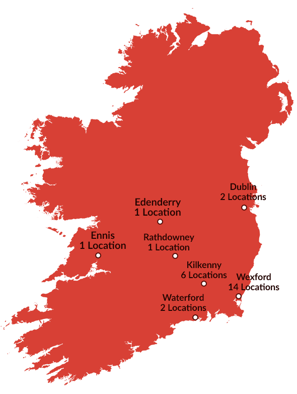 Ireland-red-markers-numbered